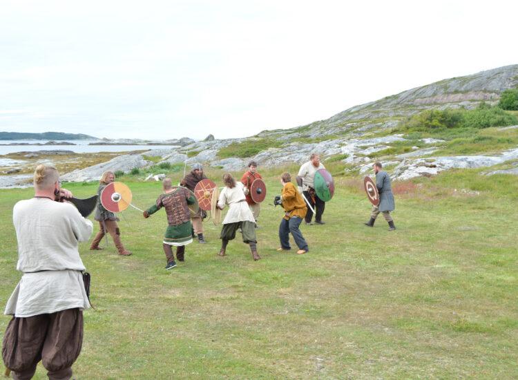 Viking meeting at Jøa - Fighters