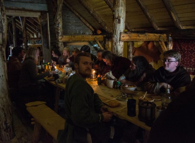 Viking meeting at Jøa