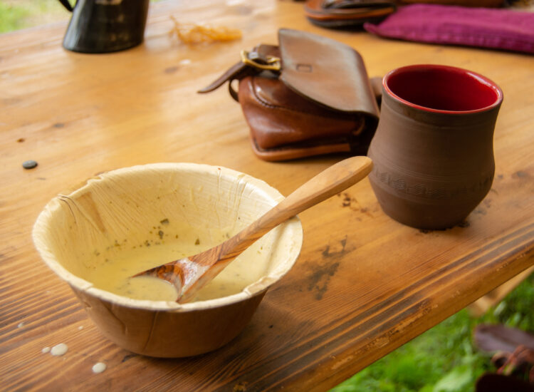 Lovage soup