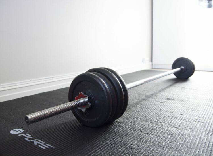 Barebell with weights