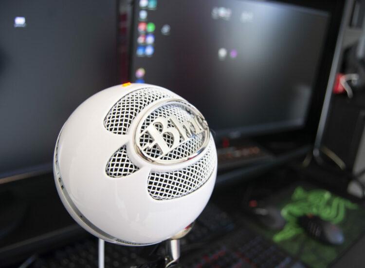 My snowball microphone