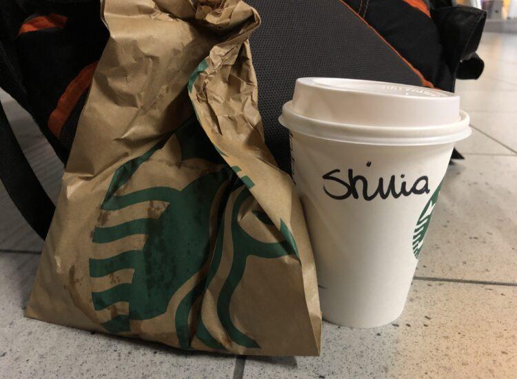 Starbucks always gets my name wrong