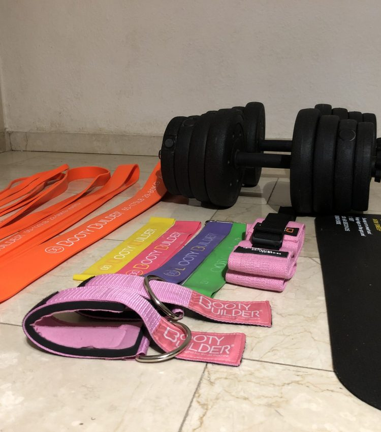 My workout equipment